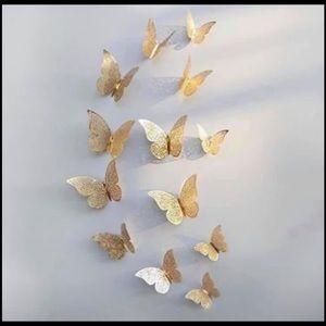 Wall Art - 3D butterflies stickers